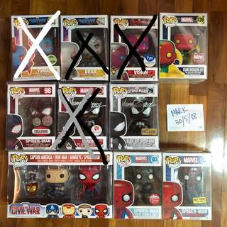 Funko Pop Marvel Clearance