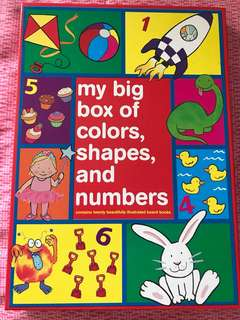 My big box of colours, shapes and numbers