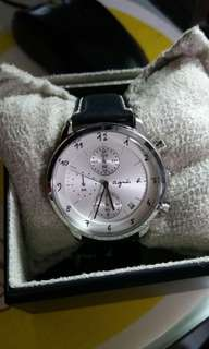 Agnes B Watch 手錶連盒 (9成新,計時跑針有壞)