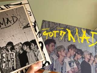 GOT7 MAD Album淨專 (直橫ver各一)