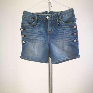Karen Millen High Waist Shorts UK8