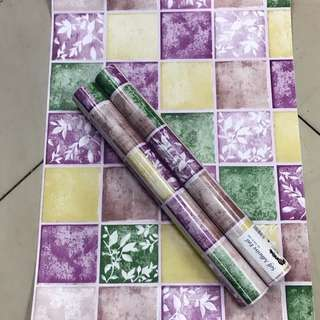 Pvc wallpaper 10mx45cm per rolls self adhesive water proof