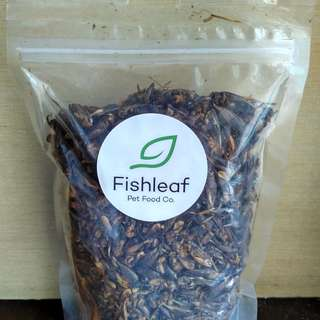 Dried crickets for hamsters and other pets