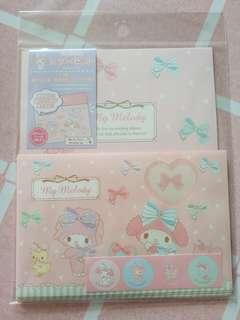 購自日本My Melody信紙套裝 (Made in Japan)
