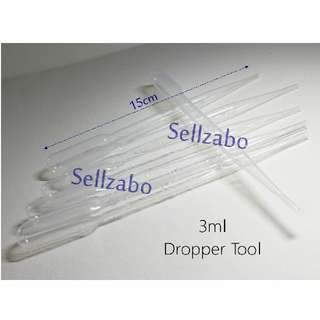 Transferring Disposable Dropper : Refill : Refilling : Transfer : Water : Toners : Liquid : Solution : Essence : Beauty : Makeup : Skincare : Skin : Care : Travel Use : Clear : Tools : Sellzabo
