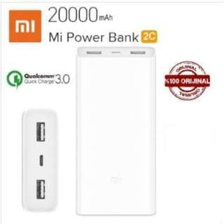 Powerbank XiaoMi 20000mAh ORI ORIGINAL