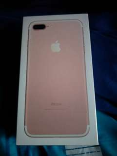 Iphone 7 Plus (Brand New and Sealed)