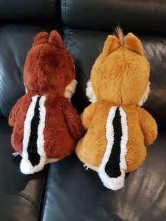 Chip and Dale soft toy from Disneyland