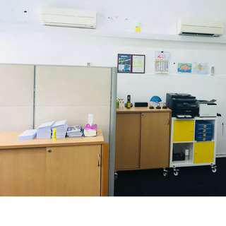 Office /Home Partition Call*Mr Tan 9638 5293 $350 Complete set include table and leg. $250 Self collect at Ubi area.  No defect, good condition, well taken care.