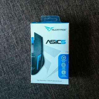 🚚 Alcatroz ASIC5 Wired Optical Mouse Blue Colour