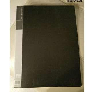 A3 Clear Book (file)