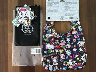 BNWT Jujube Be Neat Dream World Hello Kitty