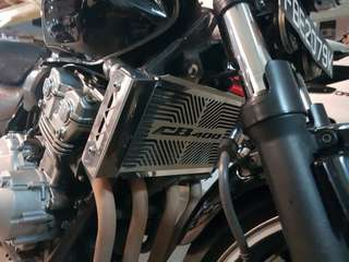 Cb400 radiator guard