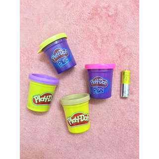 New Playdoh Plus and Playdoh