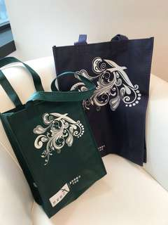 Recycle bags from SilkAir -durable, foldable, water proof and smart looking