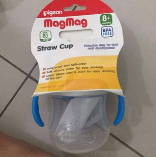Pigeon mag mag straw cup