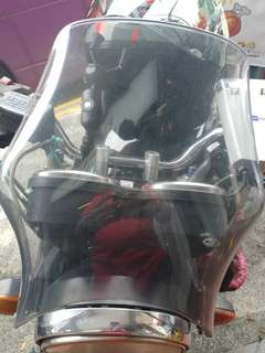 Cb400 windshield