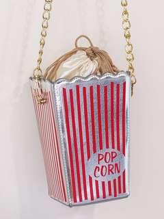 🚚 爆米花桶造型側背包