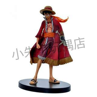 [PO] Anime One Piece Cool Monkey D Luffy 14cm Action Figure 📣Please Take Note That If There Is Any Packaging Box It Might Be Den During Shipping, But The Item Itself Will Be Good📣