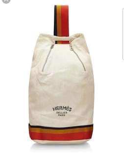 Hermes Vintage Cavalier Sling Backpack