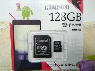 🚚 金士頓 Micro SDXC記憶卡128G/SD20G2
