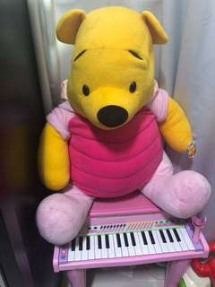 Winnie the pooh bundle with piano