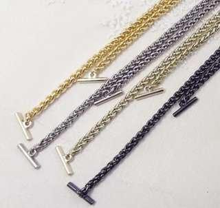 Furla款 一字手袋鏈 furla style bag chain 0.6cm/2cm