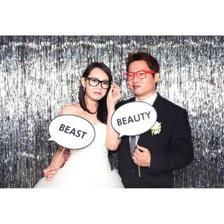 Photo booth service for events