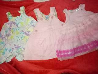 Take all baby girl dresses all 0-3 Baby OOTD
