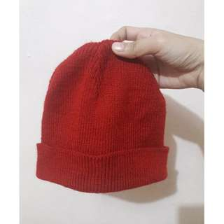 REPRICED Red Bonnet