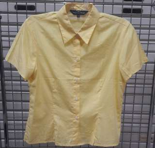 Izzy's Basic Yellow Shirt Size 10 or S  - Kemeja