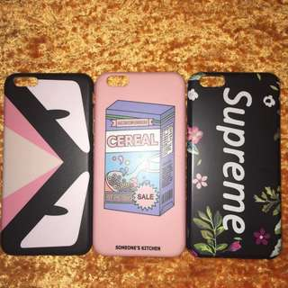 iPhone 6plus case TAKE ALL 3 FOR P200 ONLY!