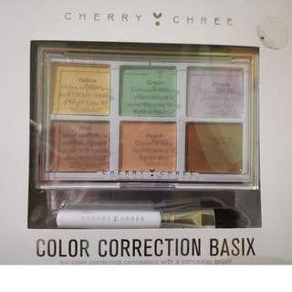 Cherry Chree Color Correction Basix concealer palette