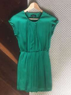 Mango Green Dress