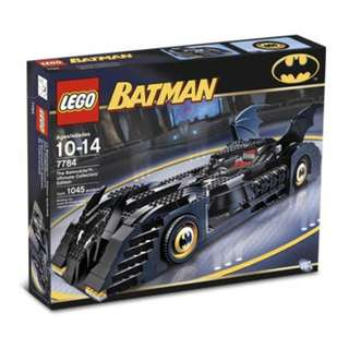 Lego Batman The Batmobile Ultimate Collectors' Edition 7784