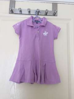 Purple Polo Dress