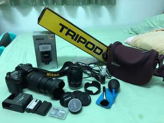 🚚 D7100 w/ complete accessories