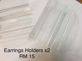 Earrings organizer