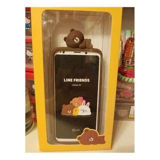Samsung 三星 Galaxy S9 正版原裝 Line Friends Brown 熊大 電話殼/電話套/手機殼/手機套
