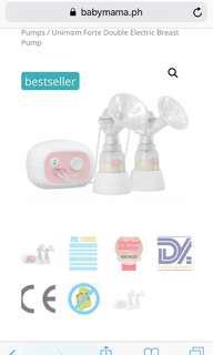 Unimom double breast pump