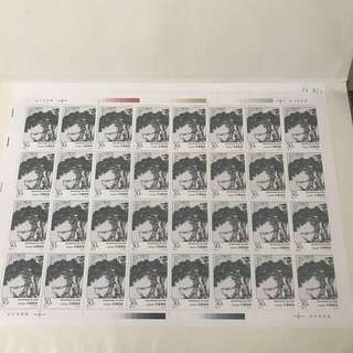 1997-4 China 1997 Painting Of Pan Tianshou Whole Sheet Of 32 Consist Of 6 Whole Sheet Stamp , 1997 潘天寿作品选 6张 32套 全 ( 1997-4 )
