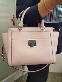 Michael kors tina large satchel