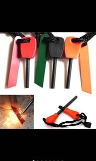 Magnesium flint stone fire starter lighter