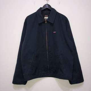 伏見古著 早期 Dickies 海軍藍工作外套 輕磅 復古夾克
