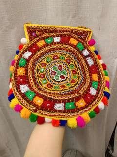 全新印度純手工民族袋