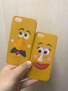 $30兩個包郵 iPhone 5/ 5s/ SE 情侶手機軟殼 Disney iPhone case