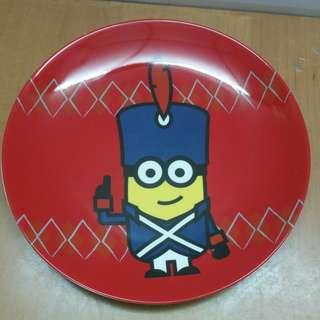 迷你兵團八寸陶瓷碟。