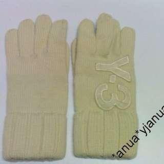 (二手品) 真品 Y3 米白色 冷手襪
