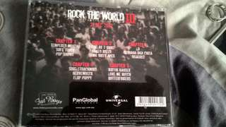 ROCK THE WORLD lll .(Limited Edition) VCD..