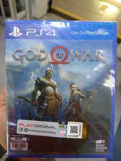 PS4 Games - GOD OF WAR 4 (NEW)